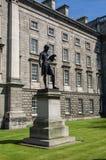 ireland dublin Treenighethögskola Arkivbild