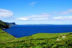 ireland för antrim kusthuvud nordliga torr Royaltyfri Bild