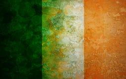 Ireland Flag Grunge Texture Illustration Royalty Free Stock Photography