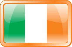 Ireland Flag Icon Stock Photos