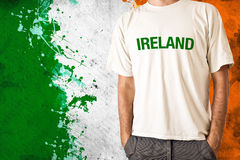 Ireland flag Royalty Free Stock Image