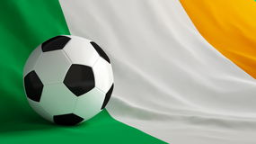 Ireland football Royalty Free Stock Photos