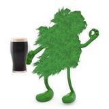 Ireland and glass mug of dark beer Stock Photos