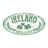 Ireland grunge rubber stamp Stock Photos