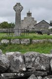 Ireland, High Cross in Kilfenora royalty free stock image