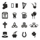Ireland Icons Stock Photography