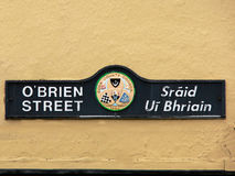 Ireland. Kanturk. O'Brian Street Royalty Free Stock Photography