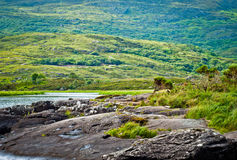 Ireland-Killarney. View over lakes in Killarney National Park, County Kerry, Ireland Royalty Free Stock Photo