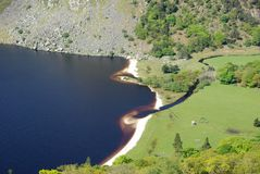 ireland lake Arkivbild