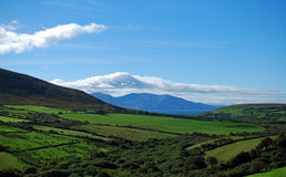 Ireland landscape. Landscape in the Dingle Peninsula of Ireland Royalty Free Stock Photo