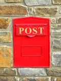 Letterbox, mailbox, postbox Stock Images
