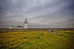 Ireland, lighthouse in Loop Head Royalty Free Stock Photos