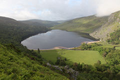 ireland lough tay Wicklow Obraz Royalty Free