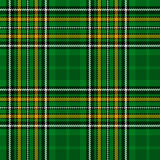 Ireland National Tartan Royalty Free Stock Photos