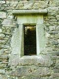 Ireland. Old window Royalty Free Stock Photography