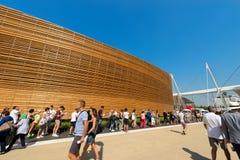 Ireland Pavilion - Expo Milano 2015 Stock Photos