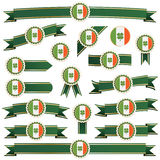 Ireland ribbons Royalty Free Stock Photo