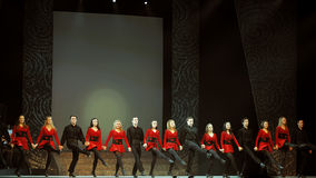 ireland riverdance Fotografia Royalty Free
