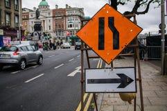 Ireland. Road sign Royalty Free Stock Image