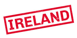 Ireland rubber stamp Royalty Free Stock Image