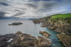 Ireland`s dramatic west coast Royalty Free Stock Image