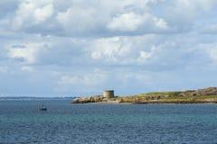 Ireland`s Eye - A small island off the coast Royalty Free Stock Image