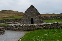 Ireland's Gallarus Oratory on the Slea Head Penninsula Royalty Free Stock Images