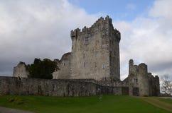 Ireland`s Ross Castle Made of Stone in Killarney National Park Stock Image