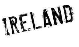 Ireland stamp rubber grunge Royalty Free Stock Photo