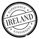 Ireland stamp rubber grunge Royalty Free Stock Photography