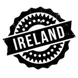 Ireland stamp rubber grunge Stock Images
