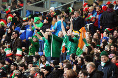Ireland supporters Stock Image