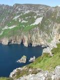 Ireland. Trekking to one of the tops in Northern part of Ireland stock photos