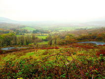 Ireland valley. Picture of Valley in Ireland Royalty Free Stock Photo