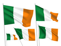 Ireland vector flags Stock Photos