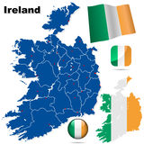 Ireland vector set. Stock Images