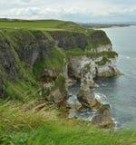 Ireland white cliffs Royalty Free Stock Photo