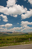 ireland zachód krajobrazowy sceniczny wibrujący Obraz Royalty Free