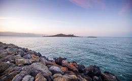 Irelands眼睛海岛,都伯林,爱尔兰 免版税库存图片