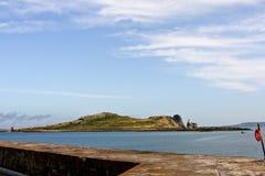 Irelands Eye island, Howth, north of Dublin, Ireland. Irelands Eye, Howth Harbour, north of Dublin Royalty Free Stock Photography