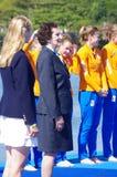 Irena Szewinska, memeber of IOC in Rio2016 Summer Olympics Royalty Free Stock Image