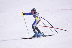 Irene Curtoni - esquiador alpino italiano Imagens de Stock