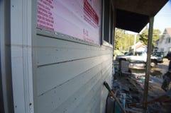 irene för skadeflodorkan northfield vermont Fotografering för Bildbyråer