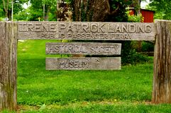 Irene Patrick Landing Stock Image