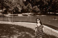Irene portreta strzelanina fotografia royalty free