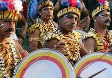 Irgendein Stammes- Stadiumskünstler Lizenzfreie Stockfotografie