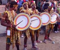 Irgendein Stammes- Stadiumskünstler Stockbild
