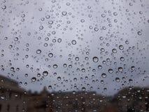 Irgendeine Blase auf dem Fenster Lizenzfreie Stockfotos