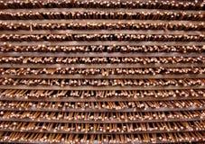 Muster - Weidezaun - Stapel Lizenzfreie Stockfotografie