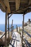 Irgendwo in der Krim Lizenzfreies Stockbild